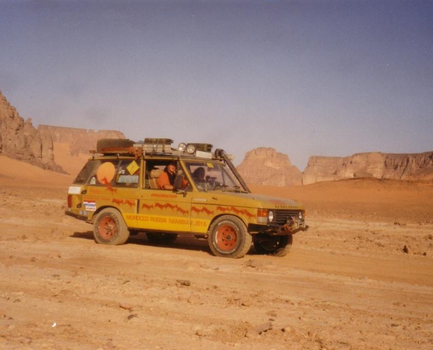 The Bahama Gold Range Rover